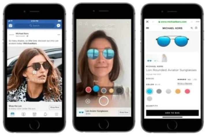 Facebook usará la realidad aumentada para venta